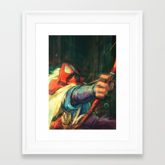 The Young Man from the East Framed Art Print
