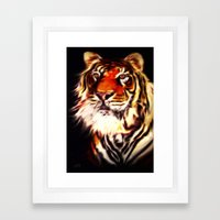 Rajah Framed Art Print