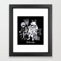 The Force Side Framed Art Print