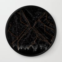 Slopes Wall Clock
