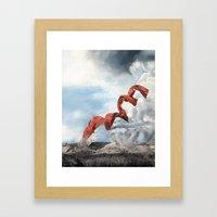 Old rebirth Framed Art Print