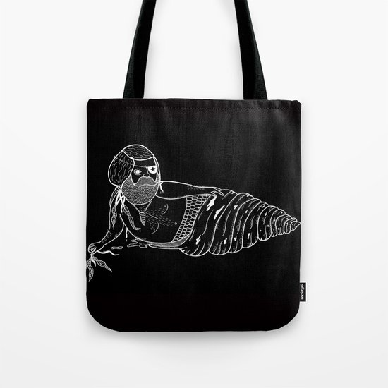 On the the various sensual mating rituals used by mermen.  Tote Bag