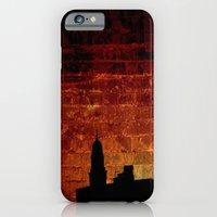 iPhone & iPod Case featuring City Sunset by AmberRinaldi