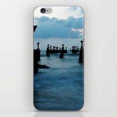 Pillars by the sea iPhone & iPod Skin