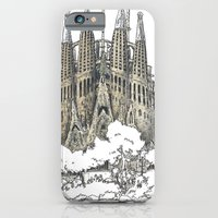 iPhone & iPod Case featuring Sagrada Familia, Barcelona by Pete Scully