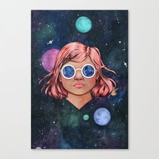 The Universe In Your Eyes Canvas Print