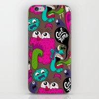Cool Time Pattern iPhone & iPod Skin