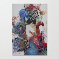 Arlekino Canvas Print