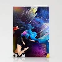 Ketamine Sky Stationery Cards