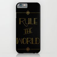iPhone & iPod Case featuring rule the world by christopher-james robert warrington