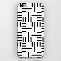 Kemper Black & White iPhone & iPod Skin