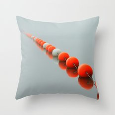 Line to the Unknown Throw Pillow