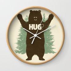Bear Hug? Wall Clock