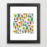 Magical Forest Framed Art Print