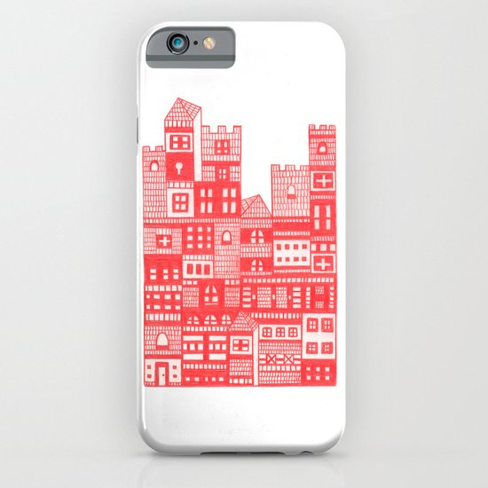 Tangerine Castle iPhone & iPod Case