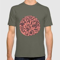 Bloom Circle Mens Fitted Tee Lieutenant SMALL