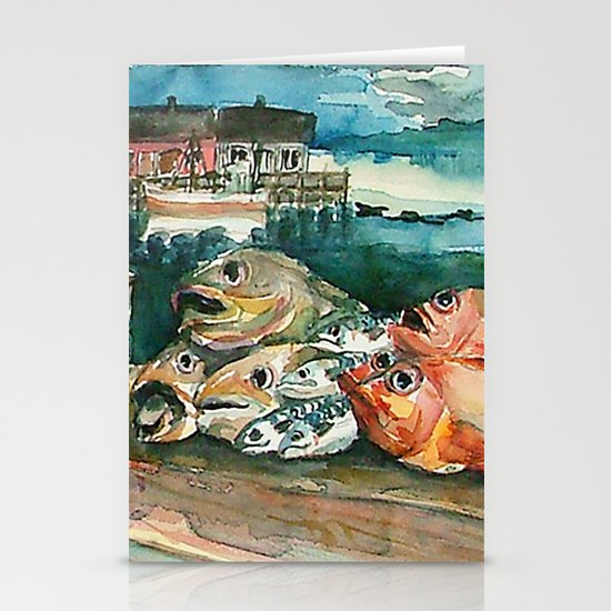 Memories frome the coast of Norway Stationery Card