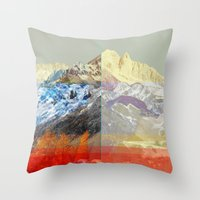 MountainMix 10 v2 Throw Pillow