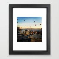 Cappadocian Hot Air Balloons 2 Framed Art Print