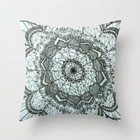 Dream Catcher By Mieke K… Throw Pillow
