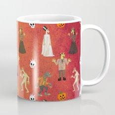 Unicorn Halloween Pattern Mug