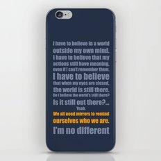 We All Need Mirrors iPhone & iPod Skin