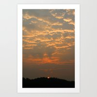Good Morning Korea Art Print