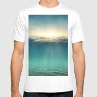 Sea Sunshine Mens Fitted Tee White SMALL