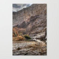 Cliffs of Israel Series #3 Canvas Print
