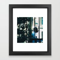 AQUARIUM Framed Art Print