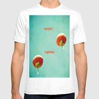 Hangin' Together Mens Fitted Tee White SMALL