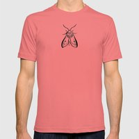 Moth Mens Fitted Tee Pomegranate SMALL