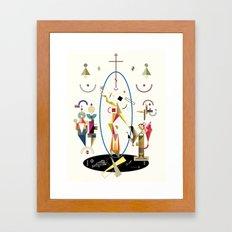 resurrectio Framed Art Print