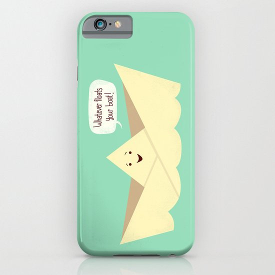 Happy boat iPhone & iPod Case