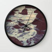 The Sun & The Sea III Wall Clock