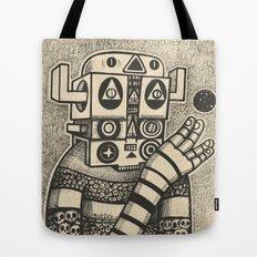 Dream of Blue Planet Tote Bag