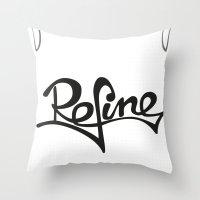 Refine Throw Pillow