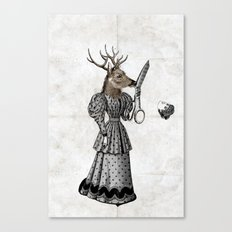 The Return Of Deer Sciss… Canvas Print
