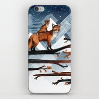 Fox Wood iPhone & iPod Skin