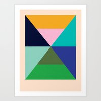 Dhurrie Ocean 2 — Matt… Art Print