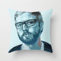Dallas Green Throw Pillow