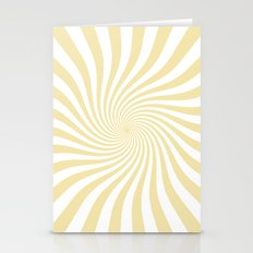 Swirl (Vanilla/White) Stationery Cards