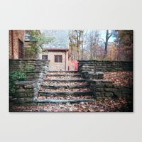 Stairs Of Stone Canvas Print