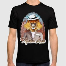 mister Lion SMALL Mens Fitted Tee Black