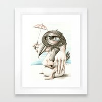 170114 Framed Art Print