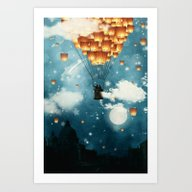 Where All The Wishes Com… Art Print