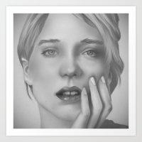 Léa Art Print