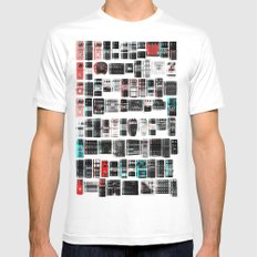 Pedal Pusher Mens Fitted Tee White SMALL