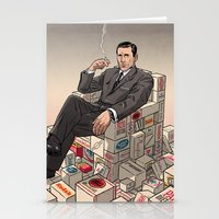 mad men Stationery Cards featuring Mad Men by David M. Buisán