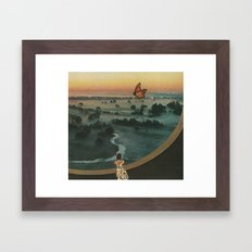 Butterfly (Land of the Mist) Framed Art Print